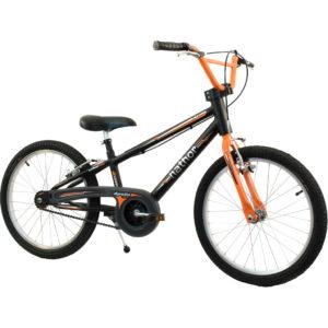 Bicicleta Nathor Apollo Preto e Laranja
